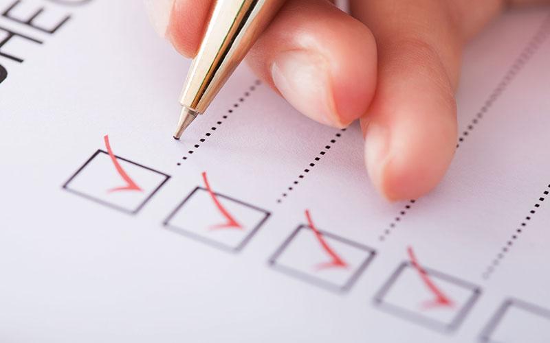 Checkliste für den Grundstückskauf
