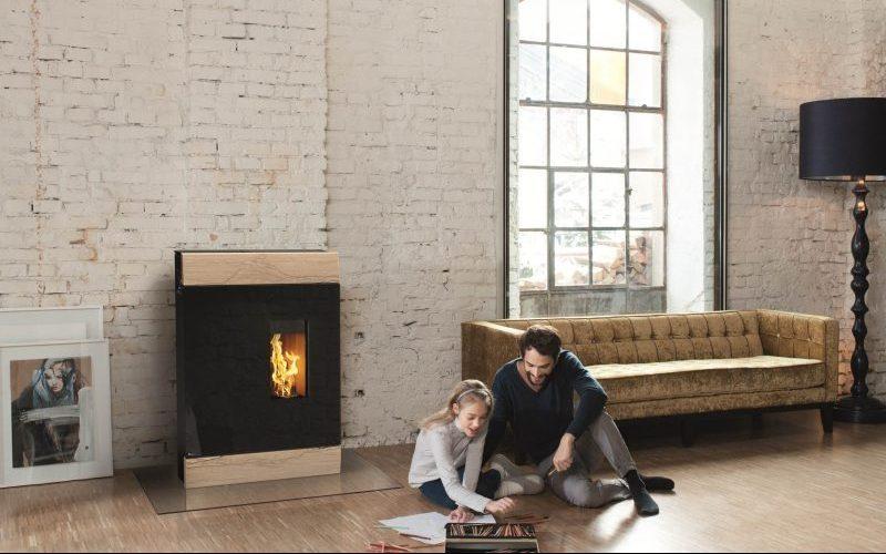 Pelletkaminöfen als komfortable und moderne Wärmequelle im Wohnzimmer